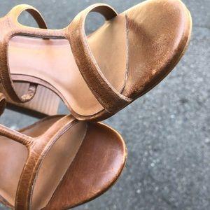 Sam Edelman Shoes - Steve Madden size 9 Leather High Heel Sandal EUC
